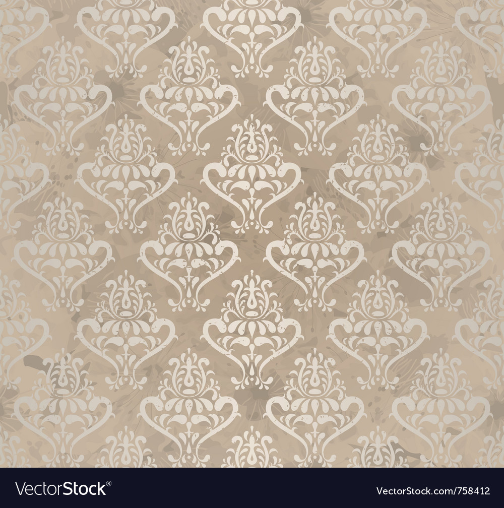 Vintage wallpaper vector