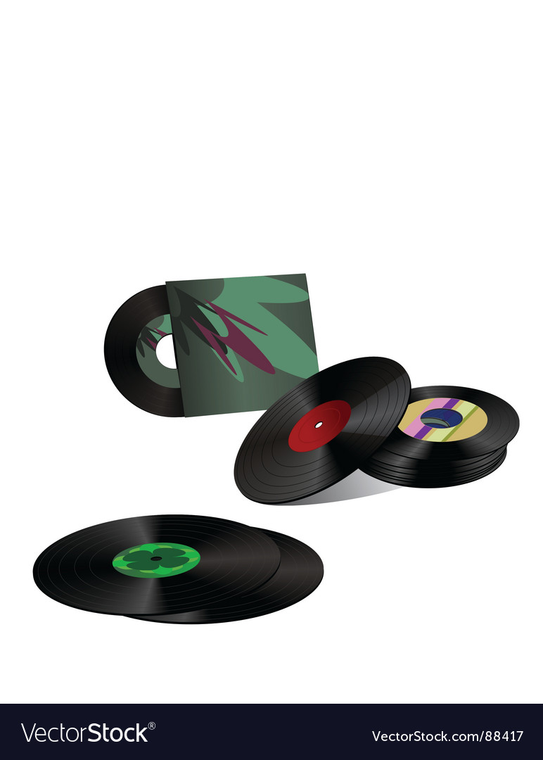 Record collection vector