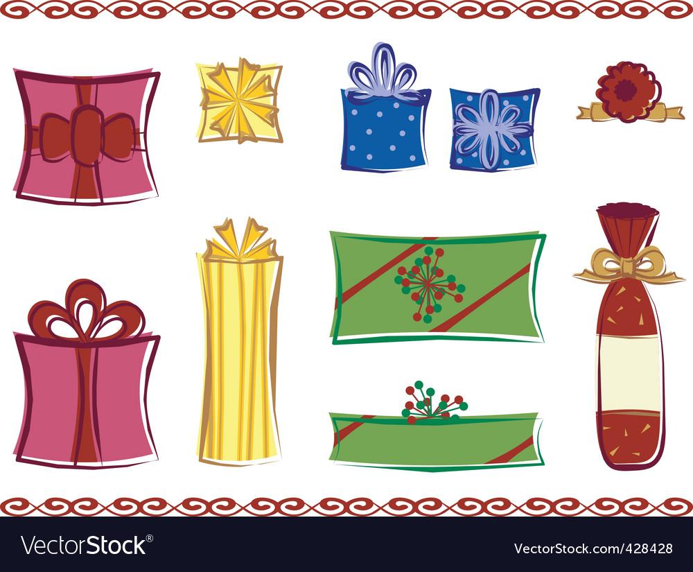Presents vector