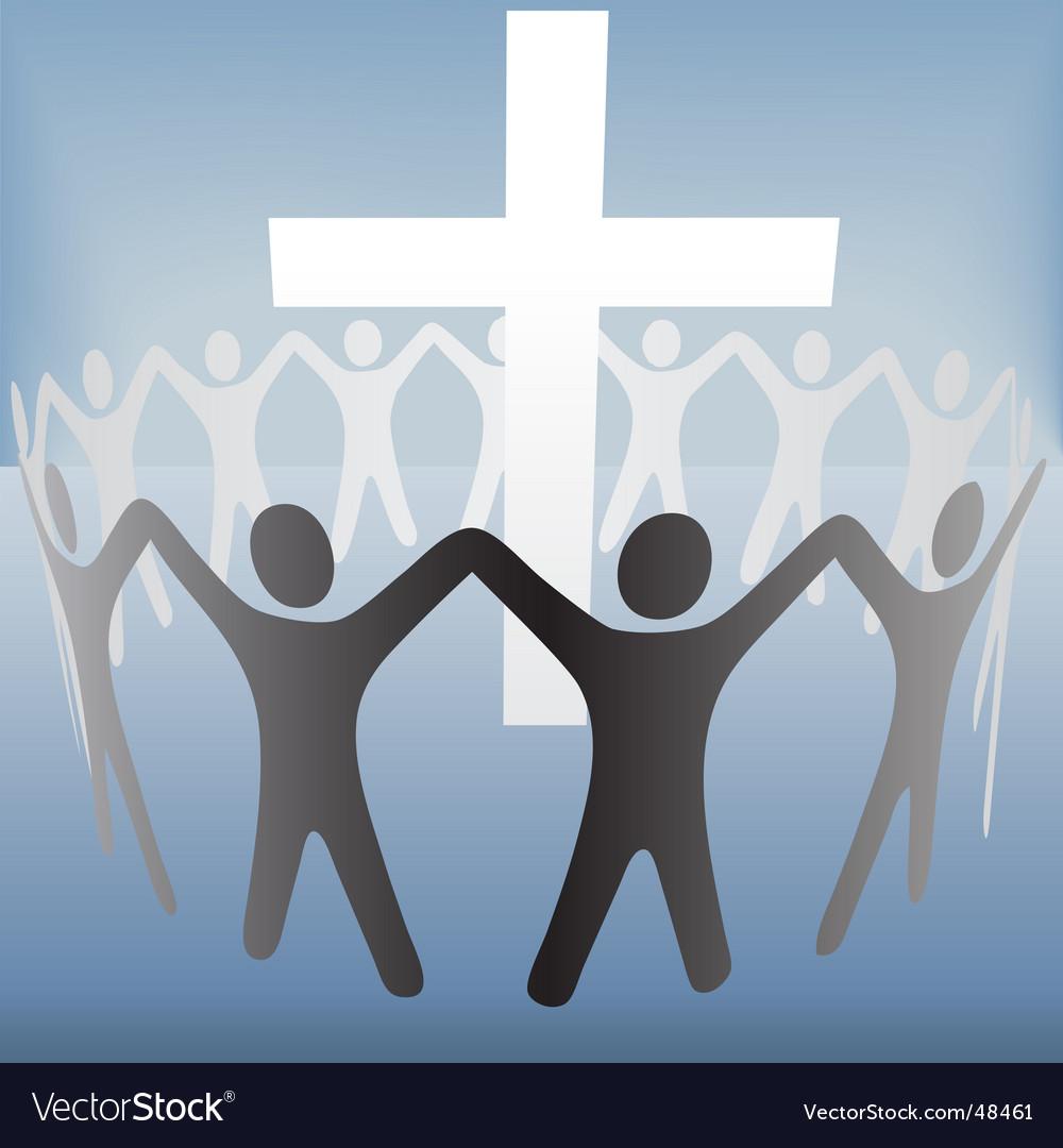 Religious celebration vector