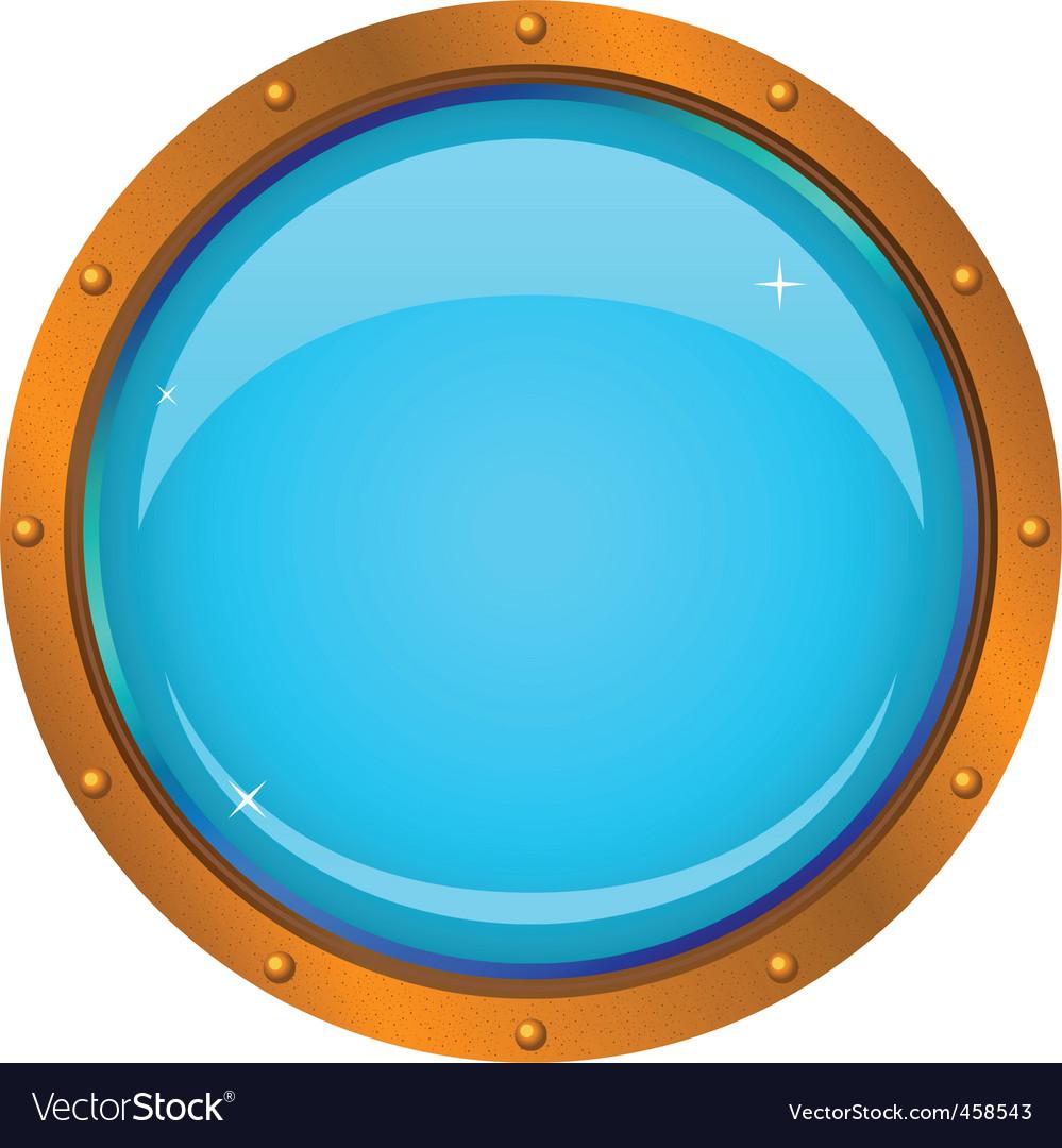 Window porthole vector