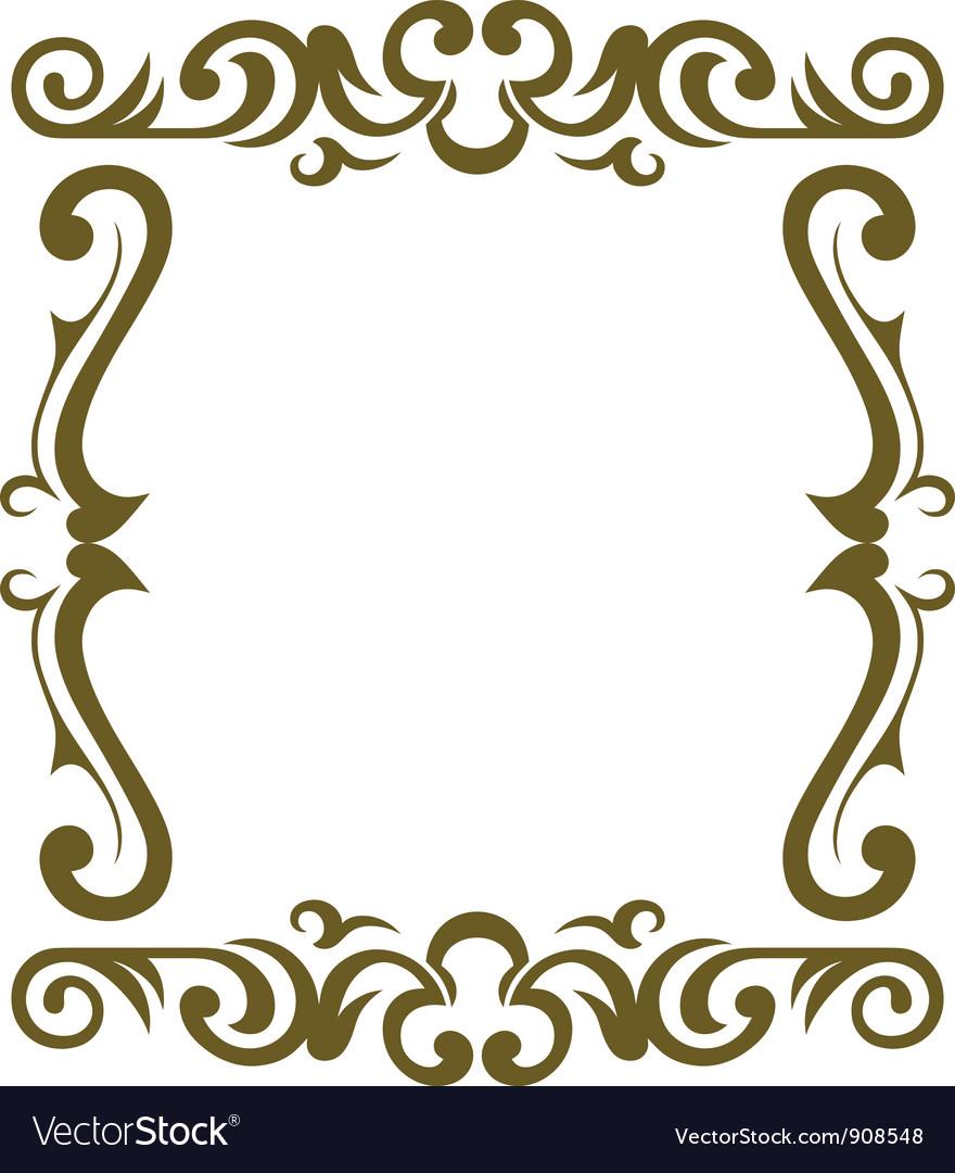 vintage gold frame design clic stock photo thinkstock