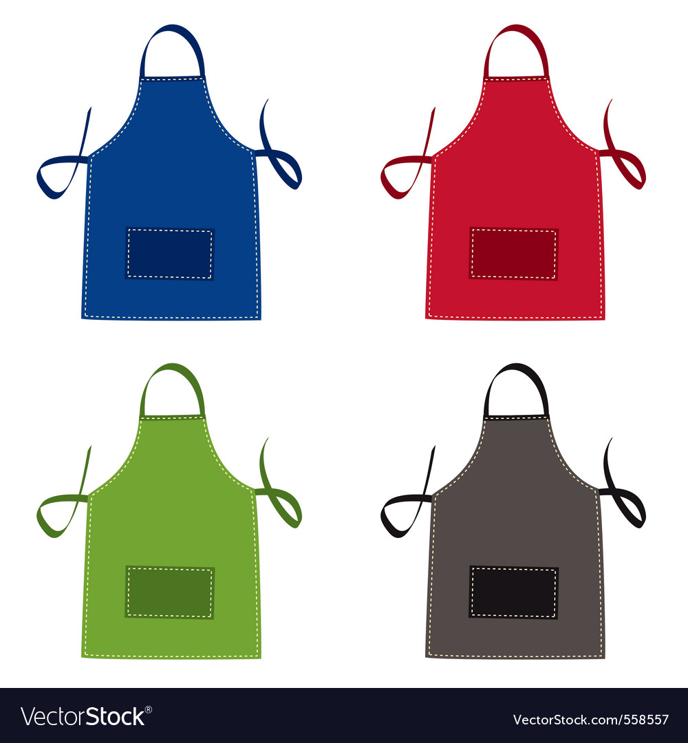 Cooks apron vector