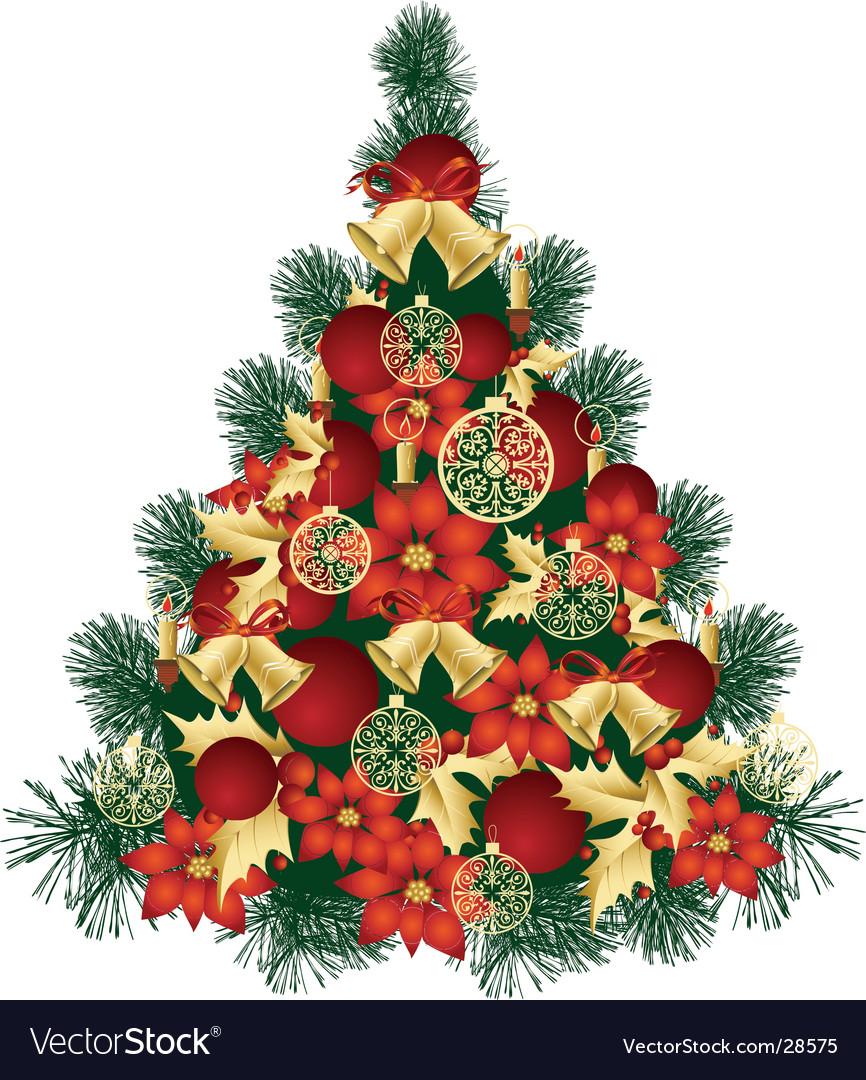 Christmas tree design vector by belarusochka image 28575