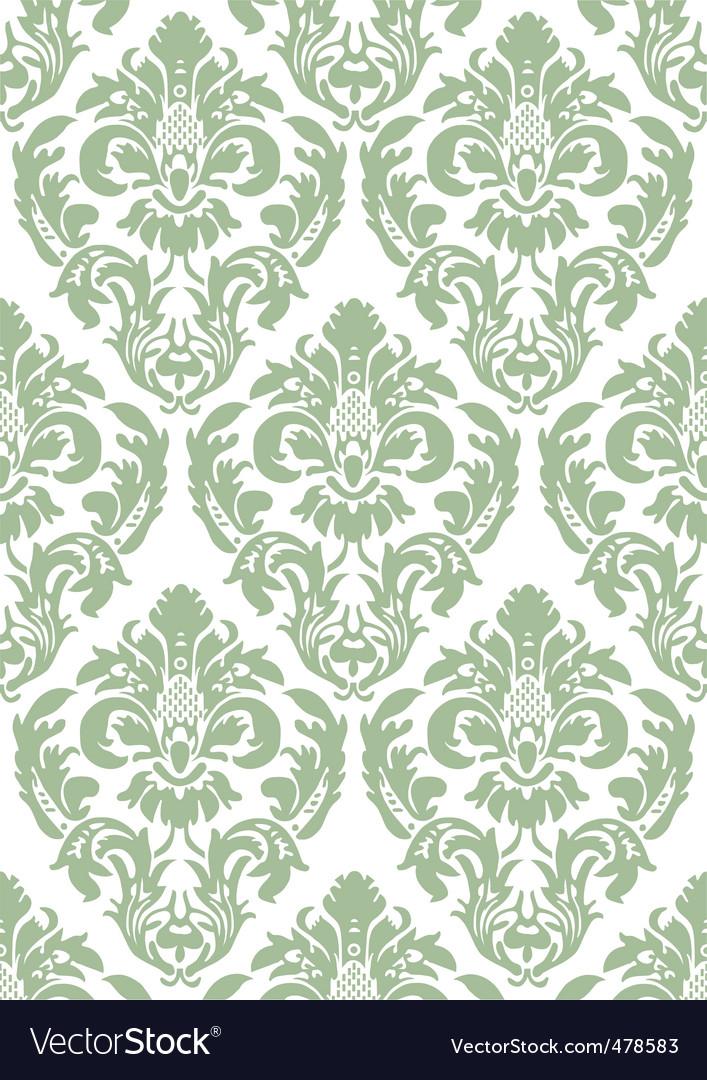 Floral wallpaper vector by rheyes image 478583 vectorstock