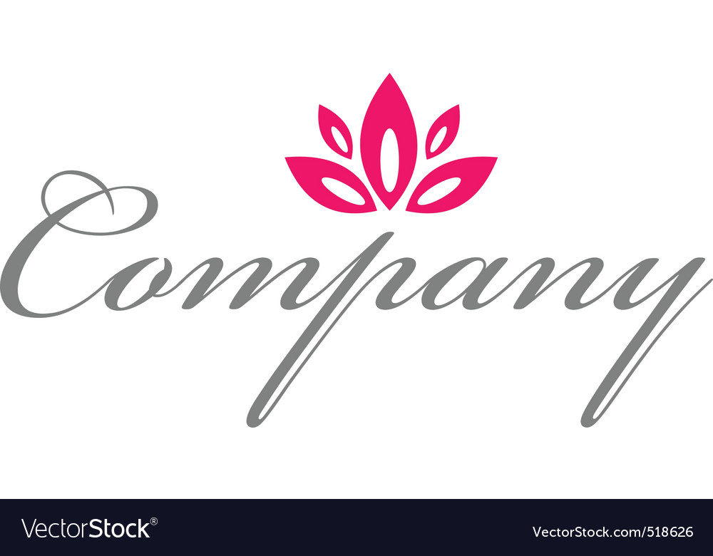 Red flower logo for healthcare vector by nicefiles - Image #518626 ...