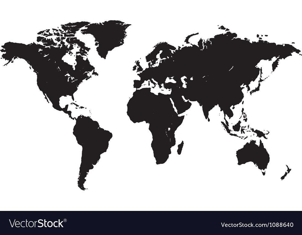 Abstract world vector
