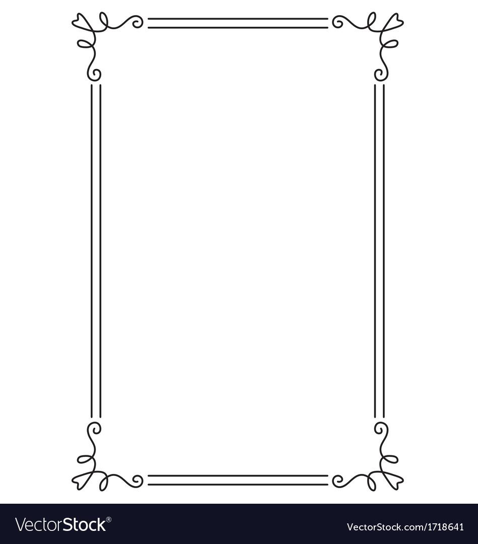 Page Border Decorative page border vector