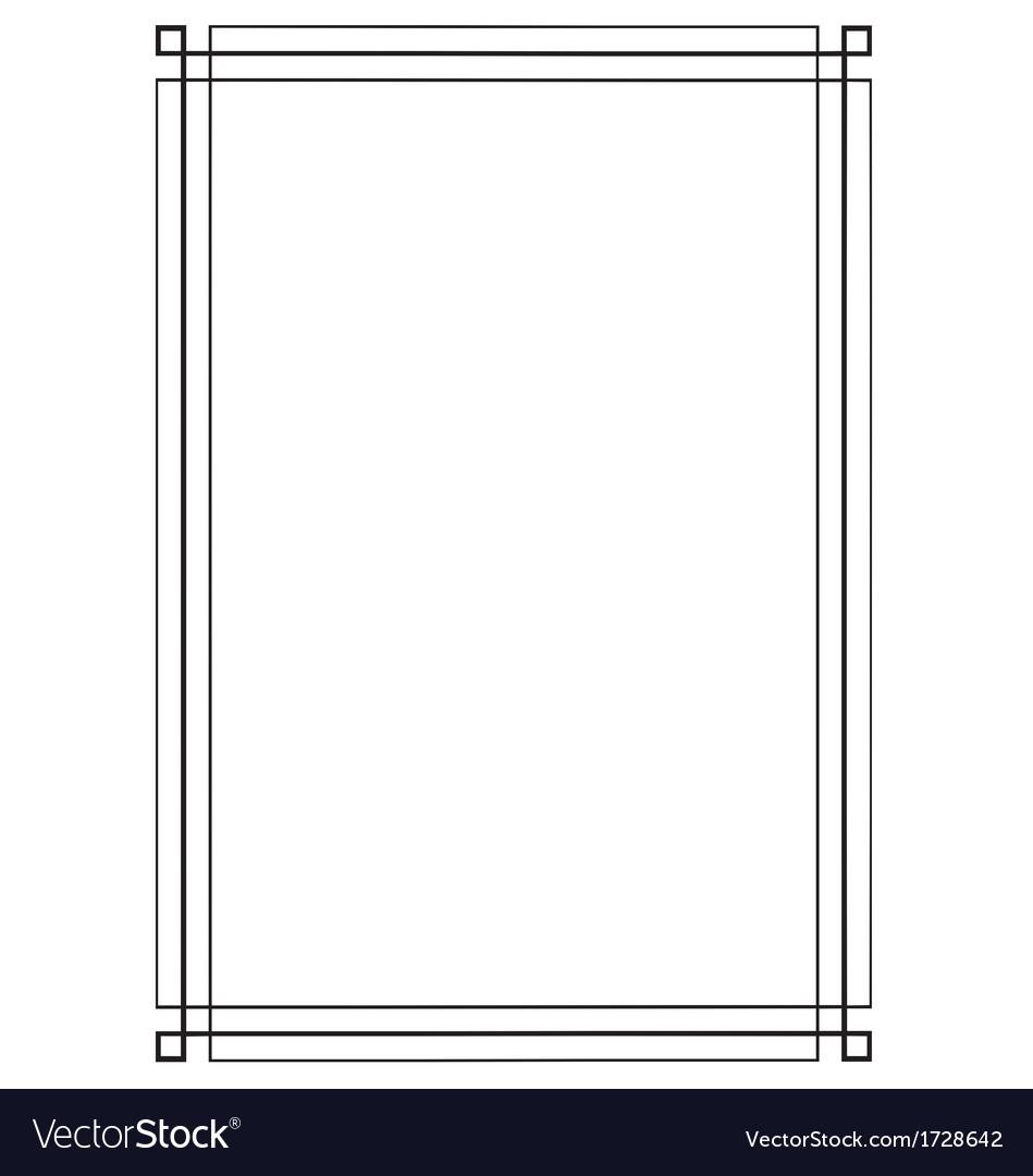 Retro decor Frames design vector 01 - Vector Frames & Borders free ...