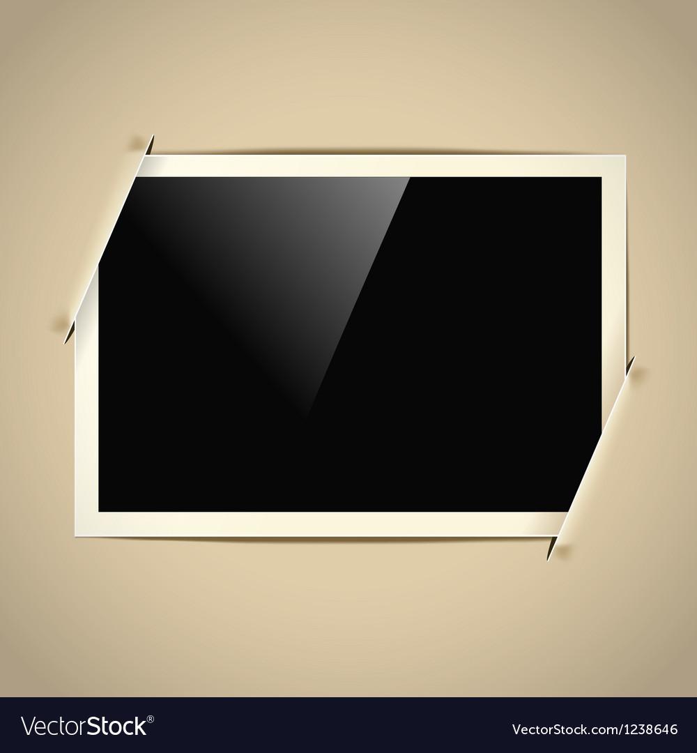Photoalbum frame vector