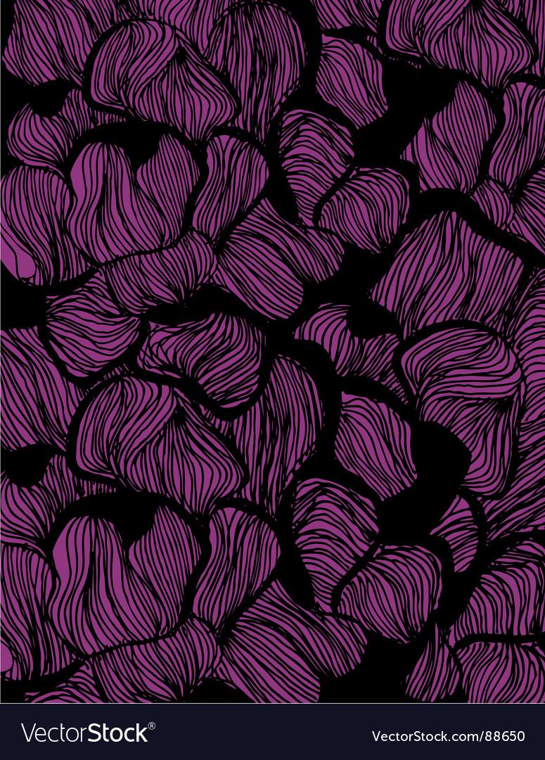 Organic abstract vector