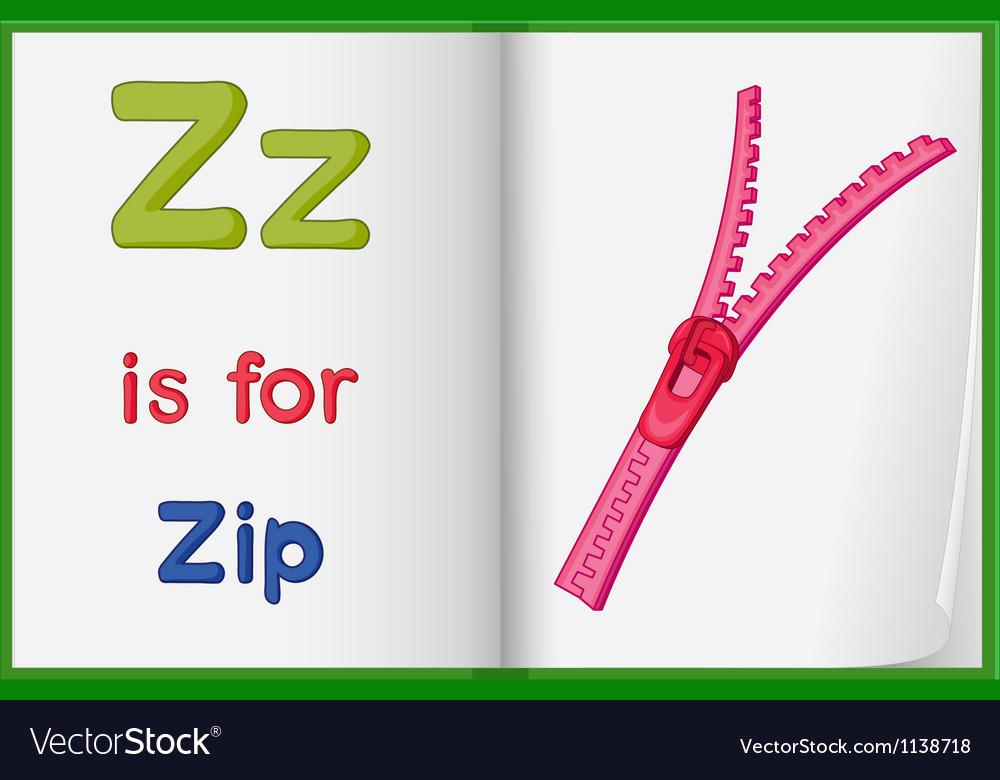 Zipper vector