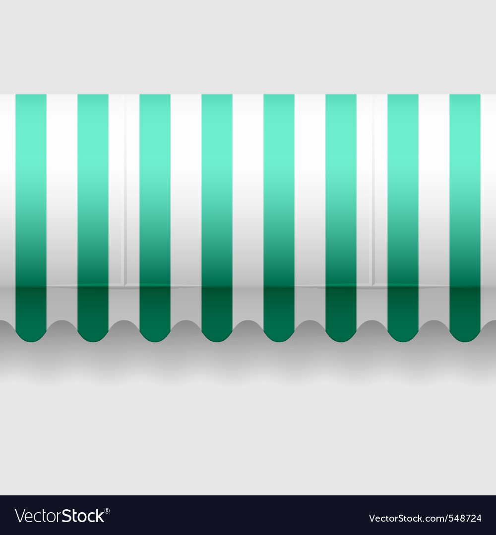 Seamless awning vector