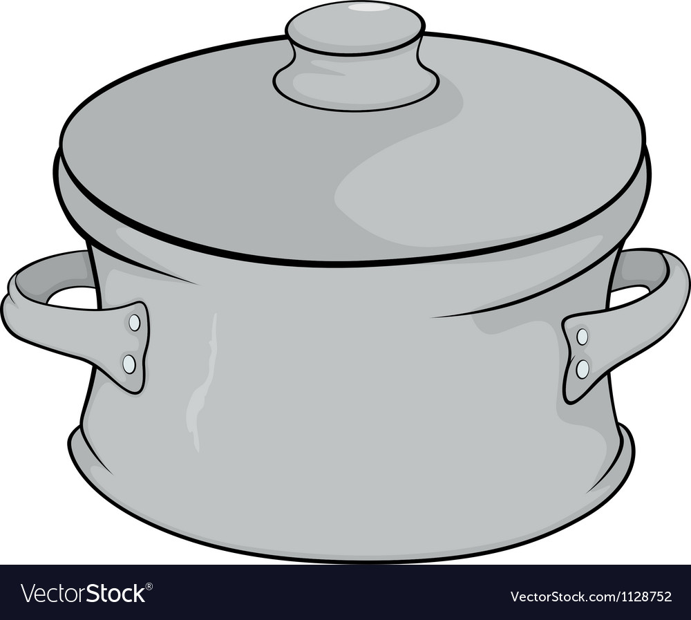 Cookware cartoon vector
