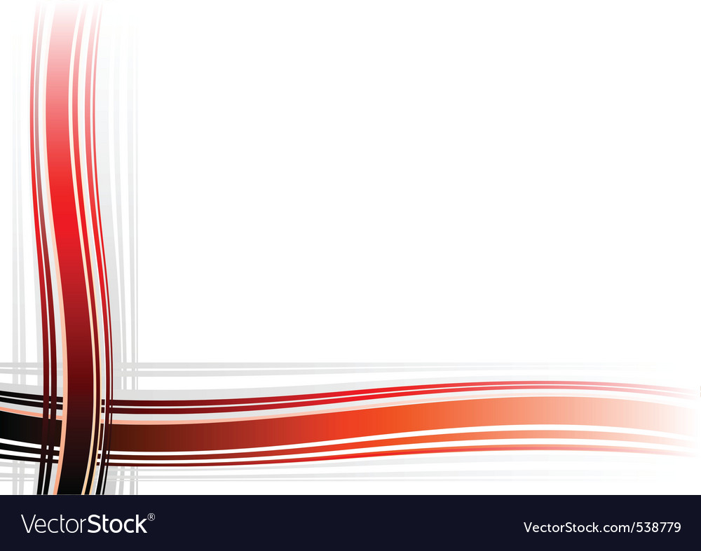Corner decoration on the white background vector