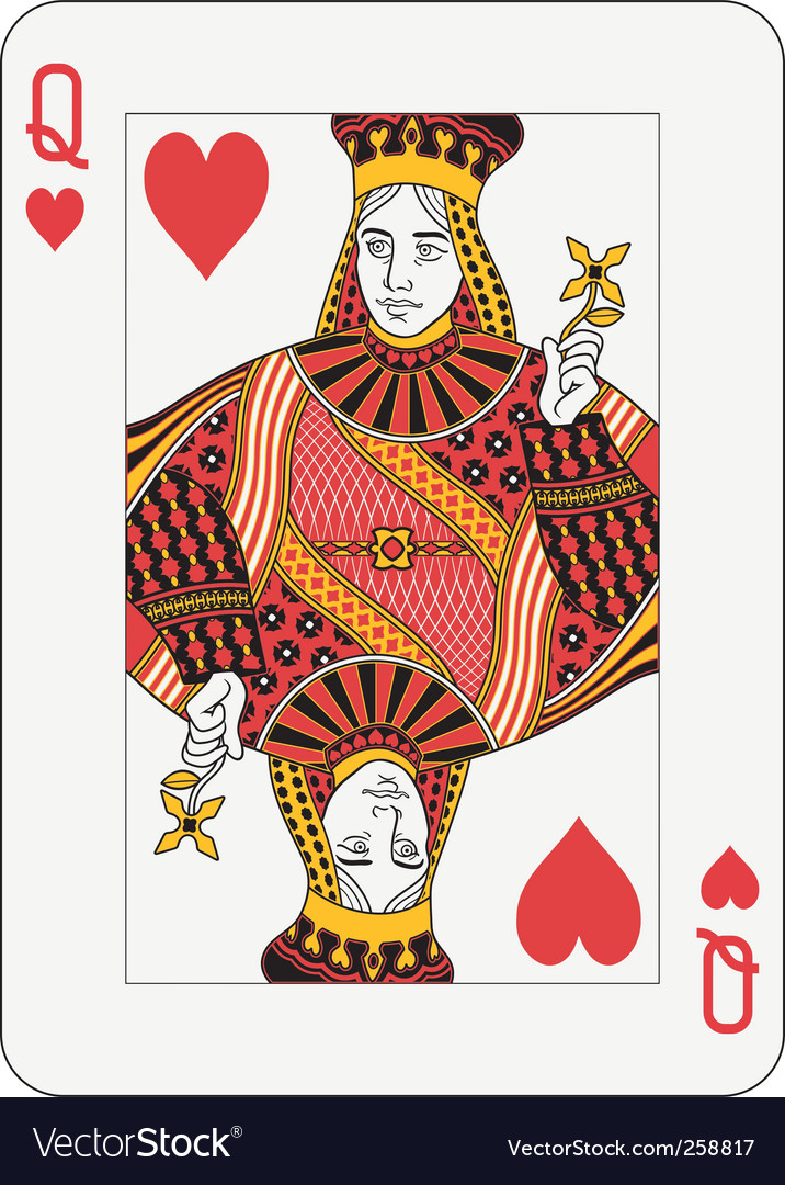 Queen Of Hearts Card T...