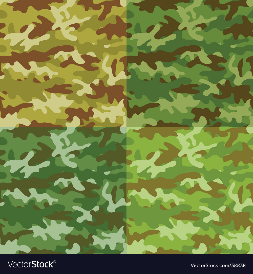 Seamless camouflage vector
