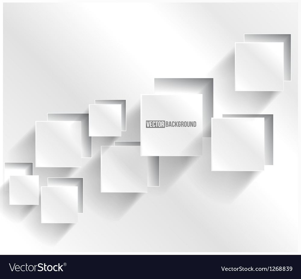 Abstract background square web design vector