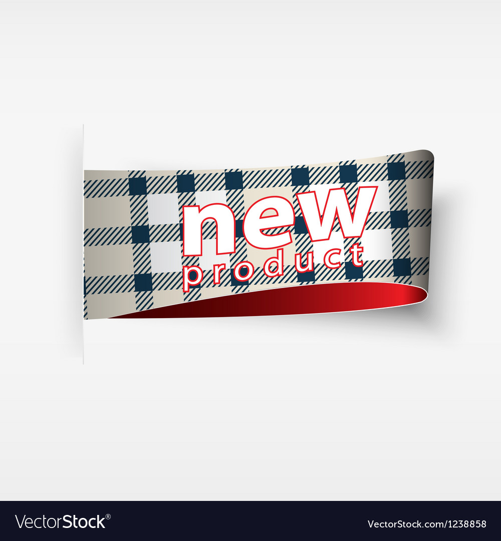 Plaid label vector