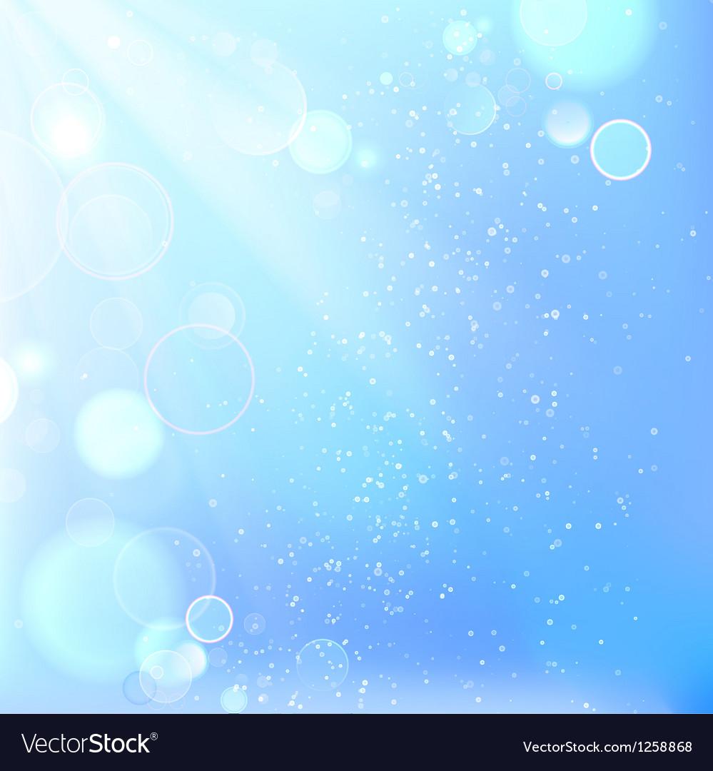 Beautiful winter background vector