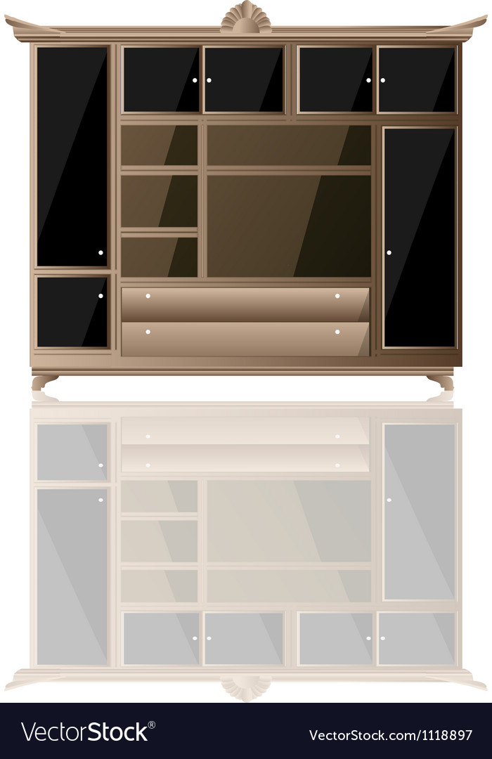 Living furniture icon vector