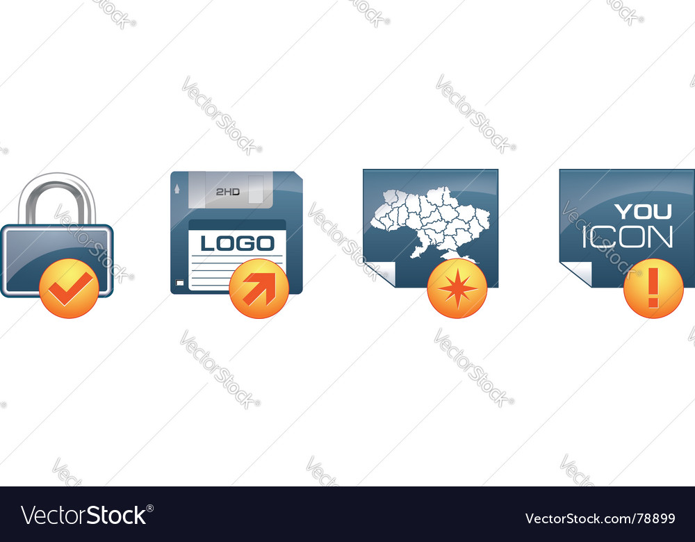 Icon set vector