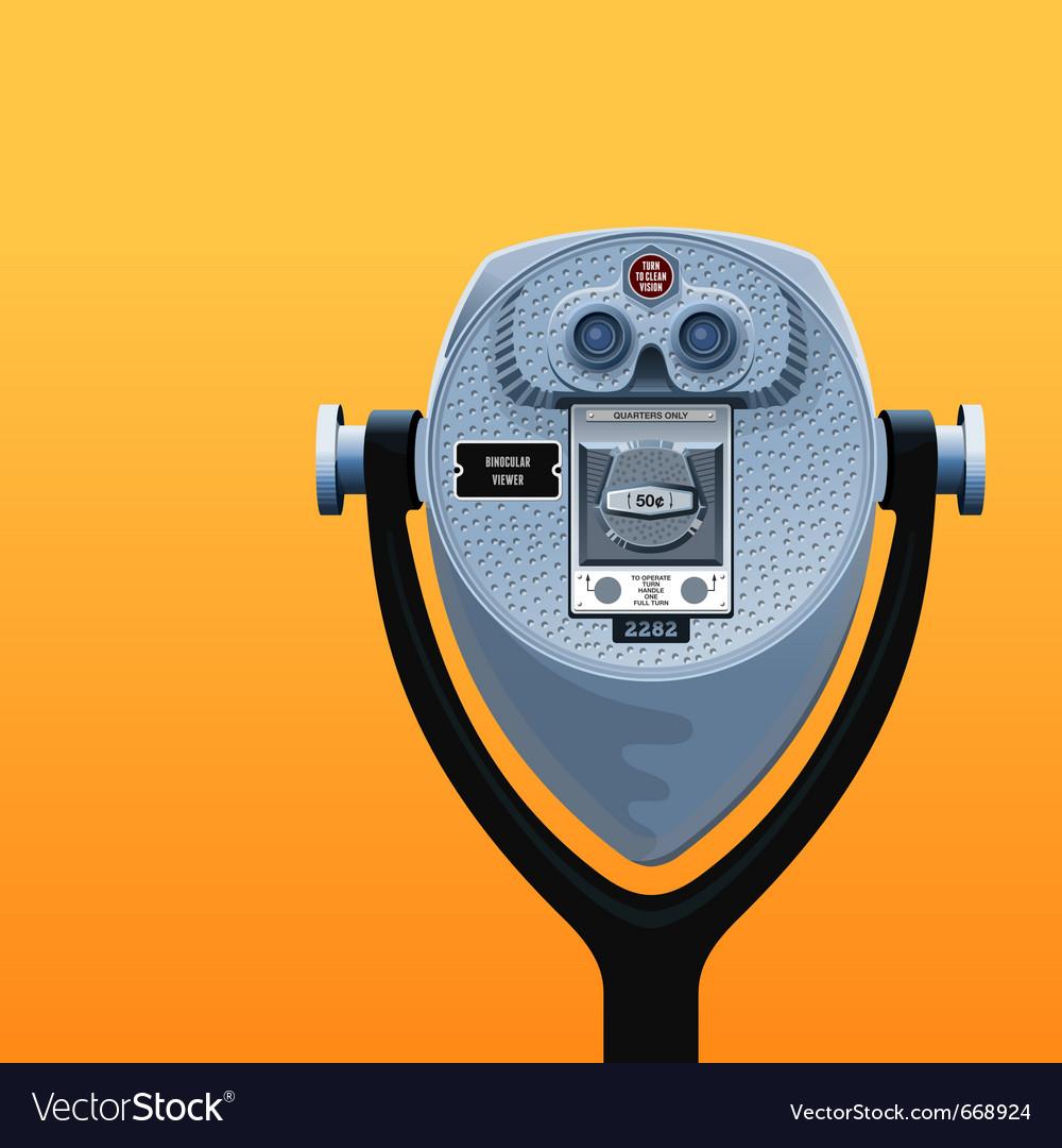 Binocular viewer vector