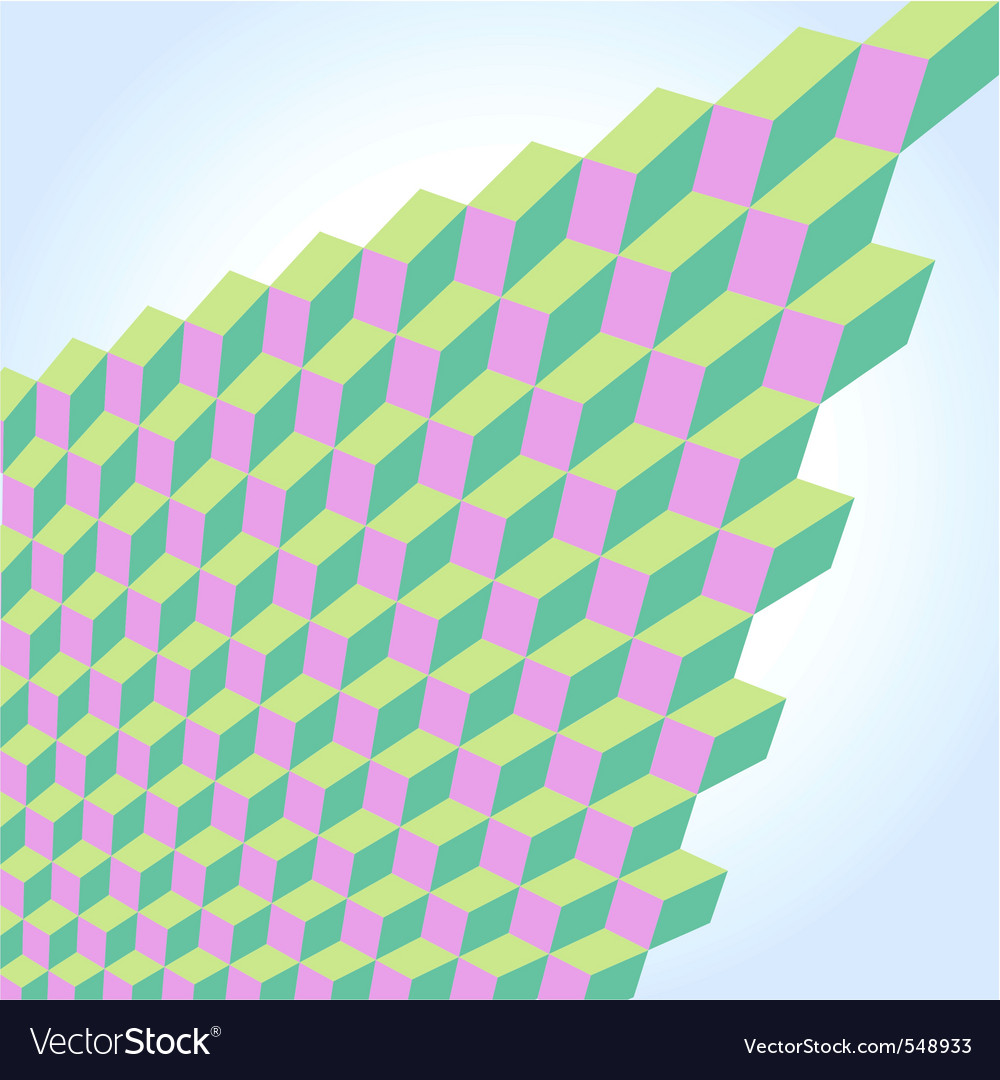 Abstract geometry pattern vector