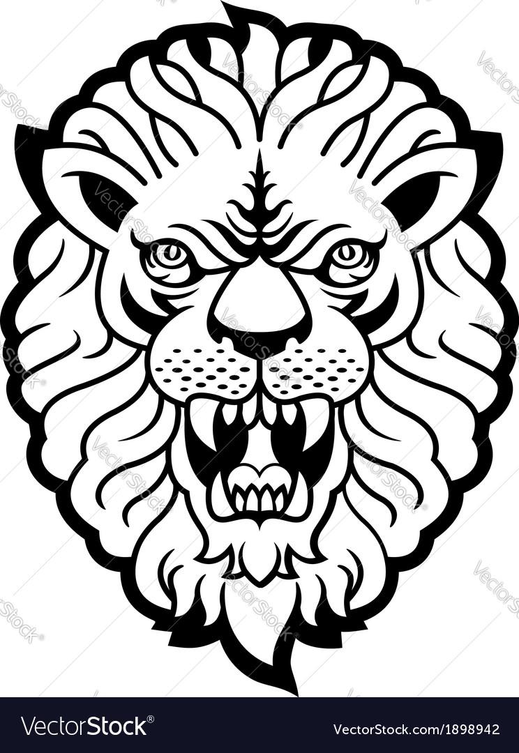 Lion roar vector - photo#22