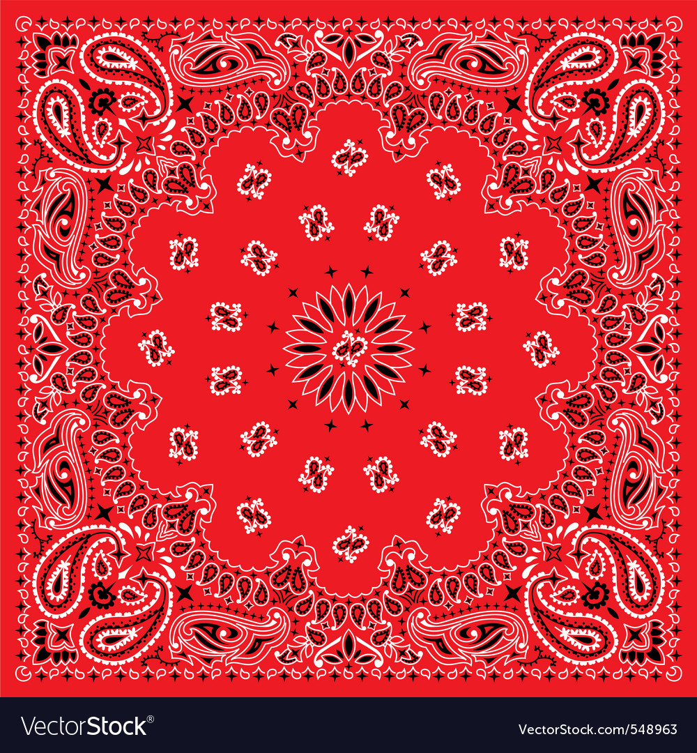 Bandana  colorful vector