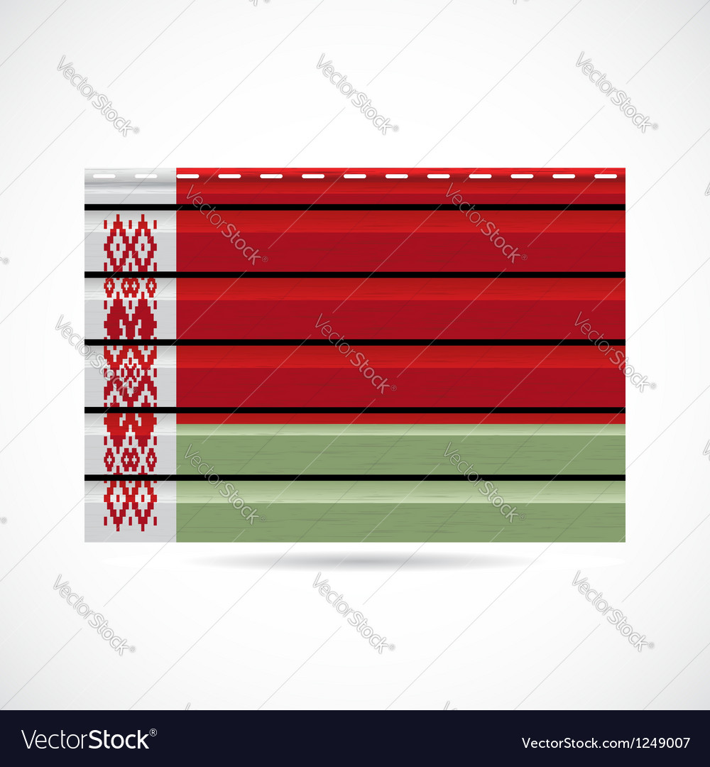 Belarus siding produce company icon vector