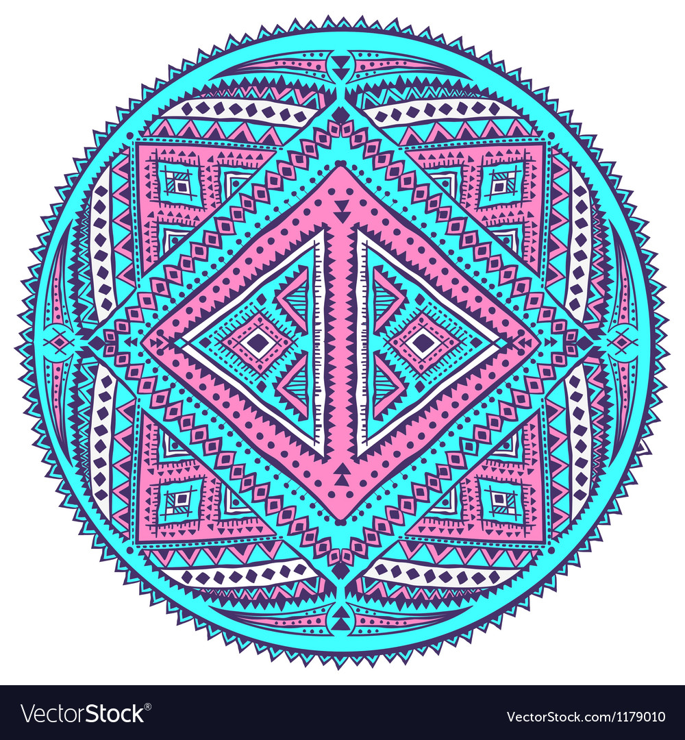 Ethnic ornament vector