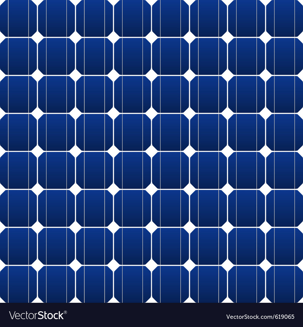 Photovoltaic panel vector