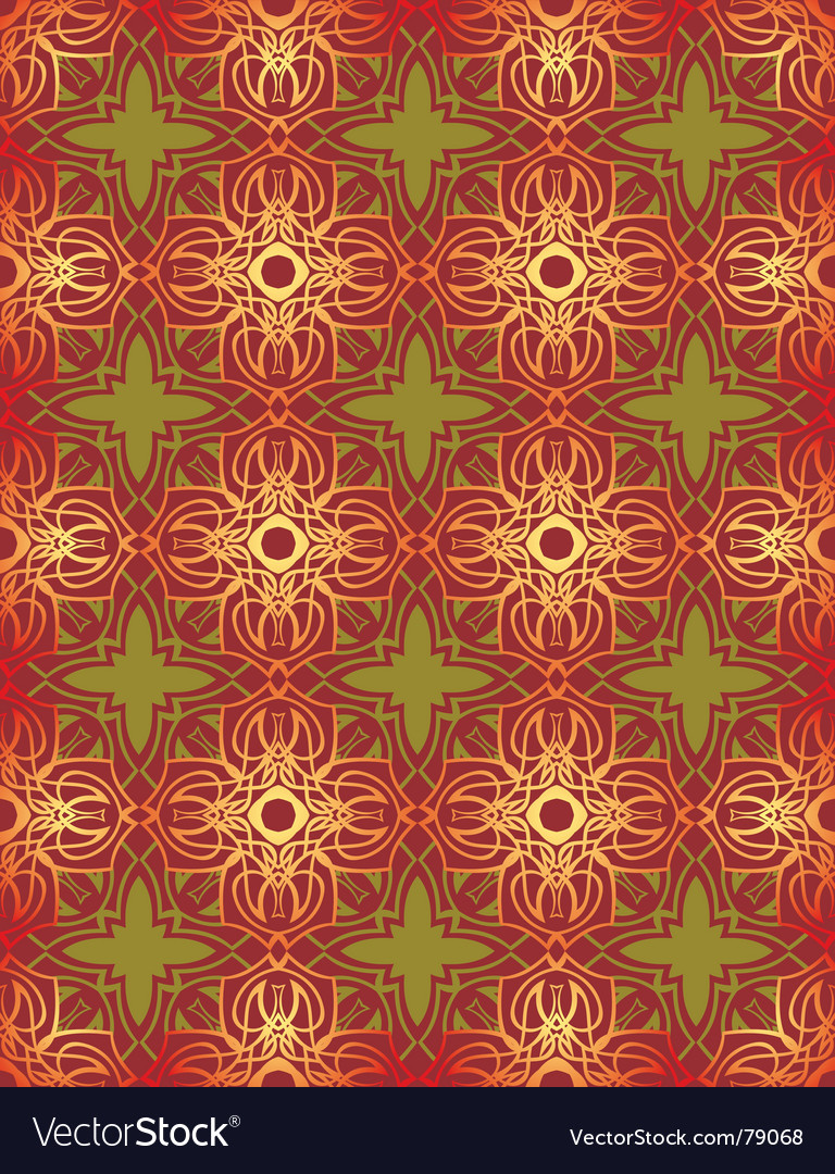Free floral wallpaper vector