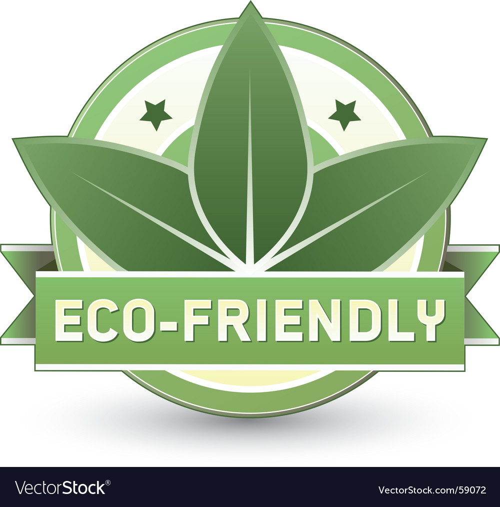 Eco-friendly vector