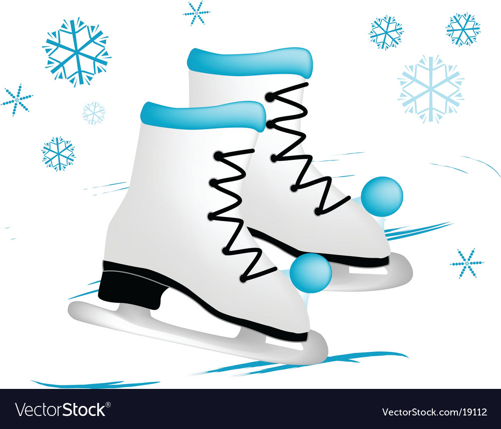 Ice Skating Shoes Cartoon | lol-rofl.com