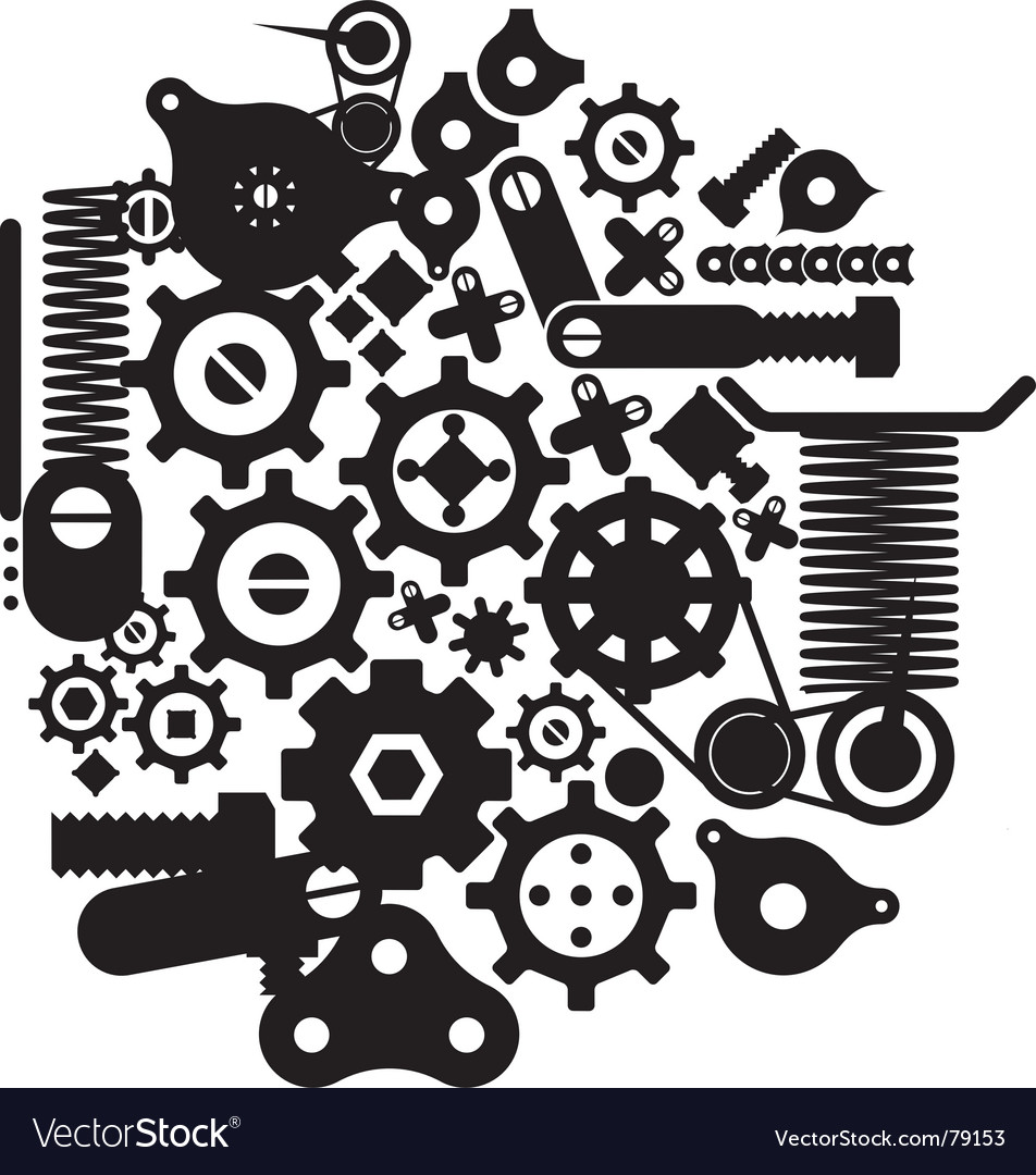 Free cogs and cranks vector