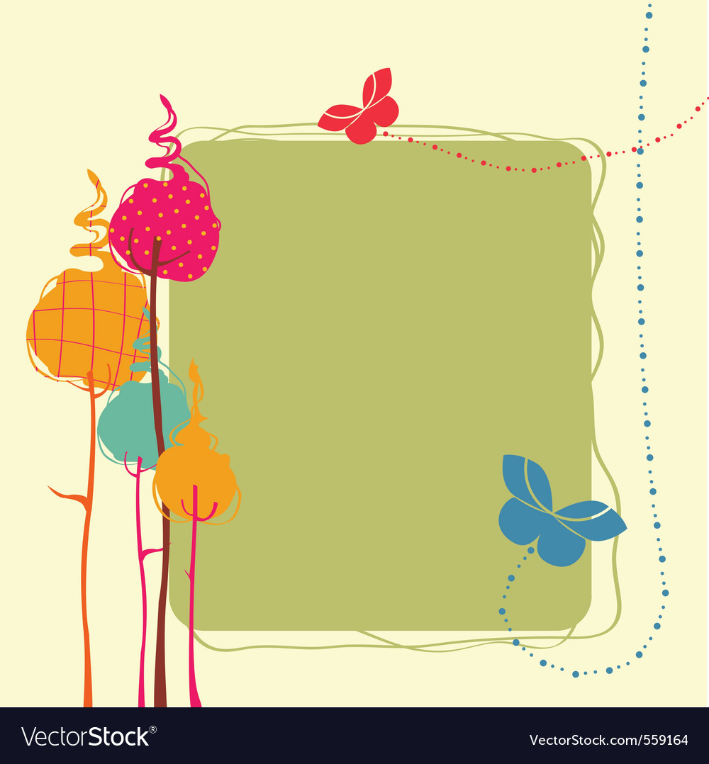 Design greeting card vector