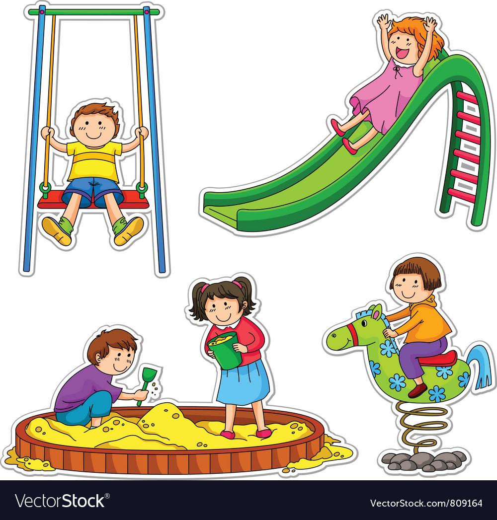 Playground vector