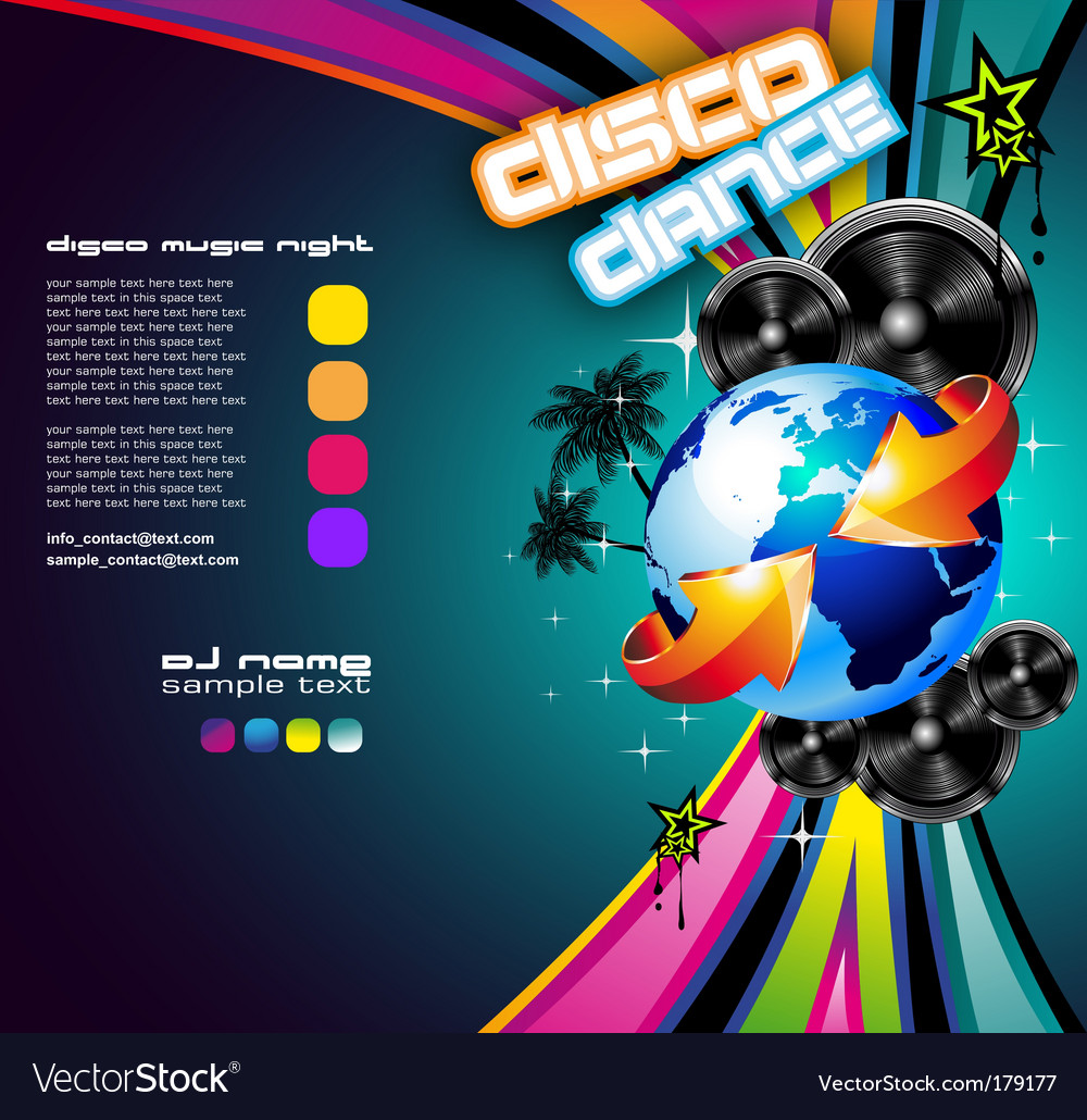 International music event vector