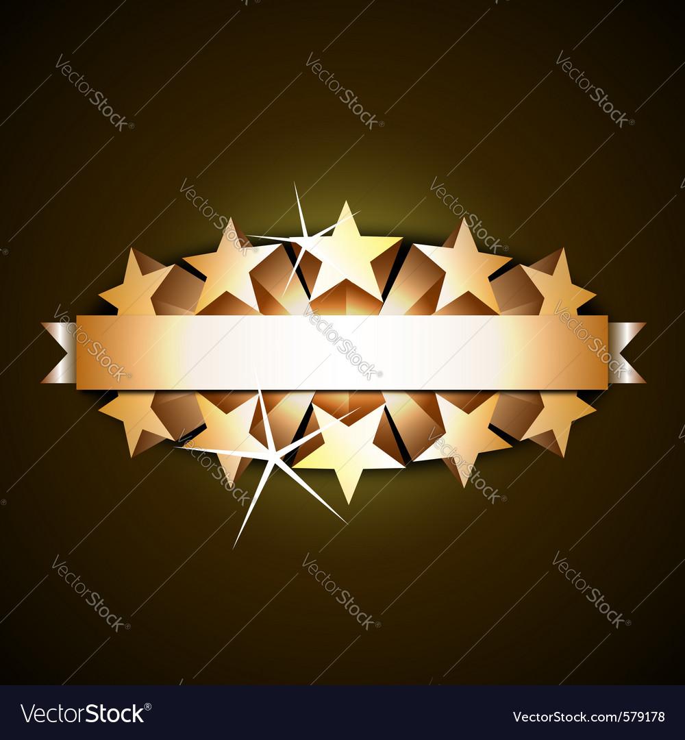 Shiny ribbon vector