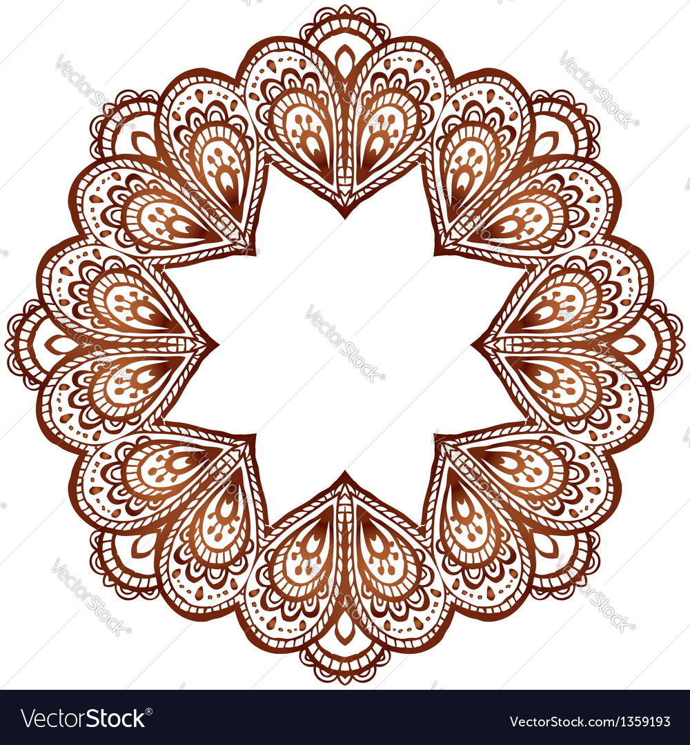 Indian patterns vector - photo#23