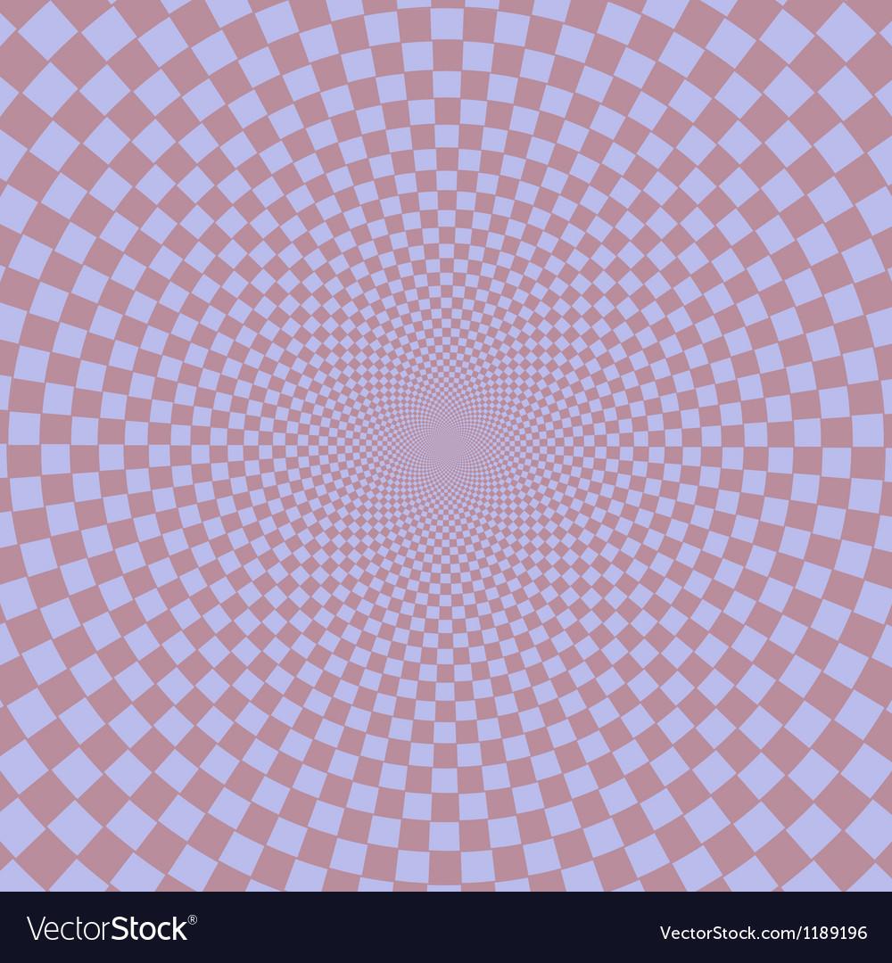 Retro vintage grunge hypnotic background vector