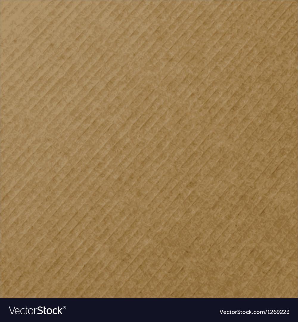 Realistic cardboard texture vector