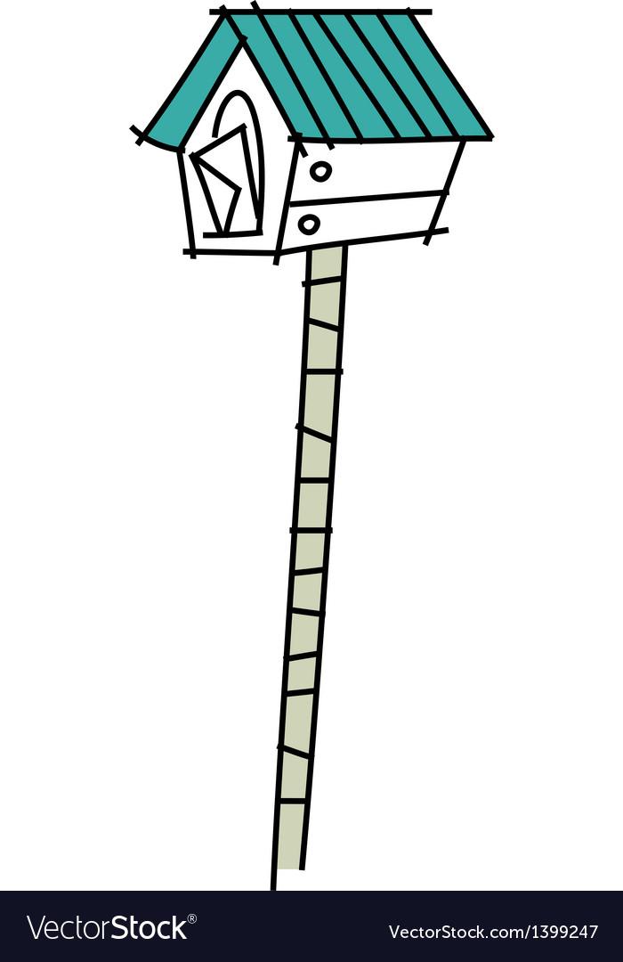 Icon postbox vector