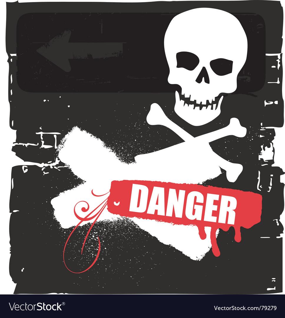 Free danger vector