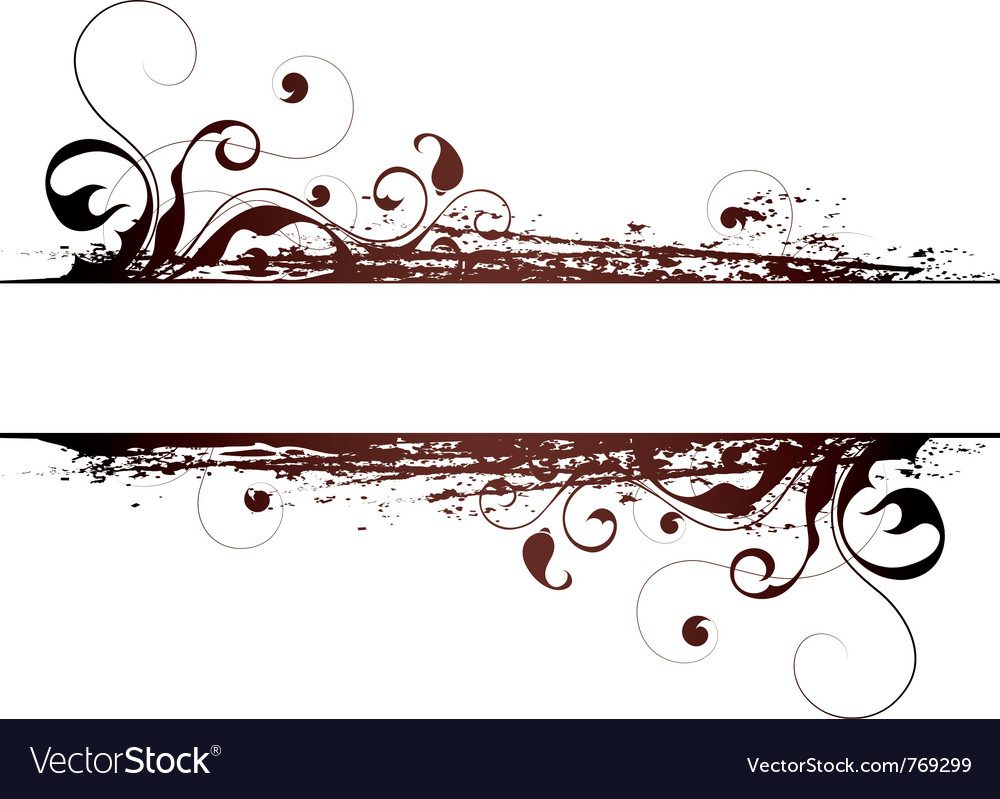 Artistic abstract designs vector