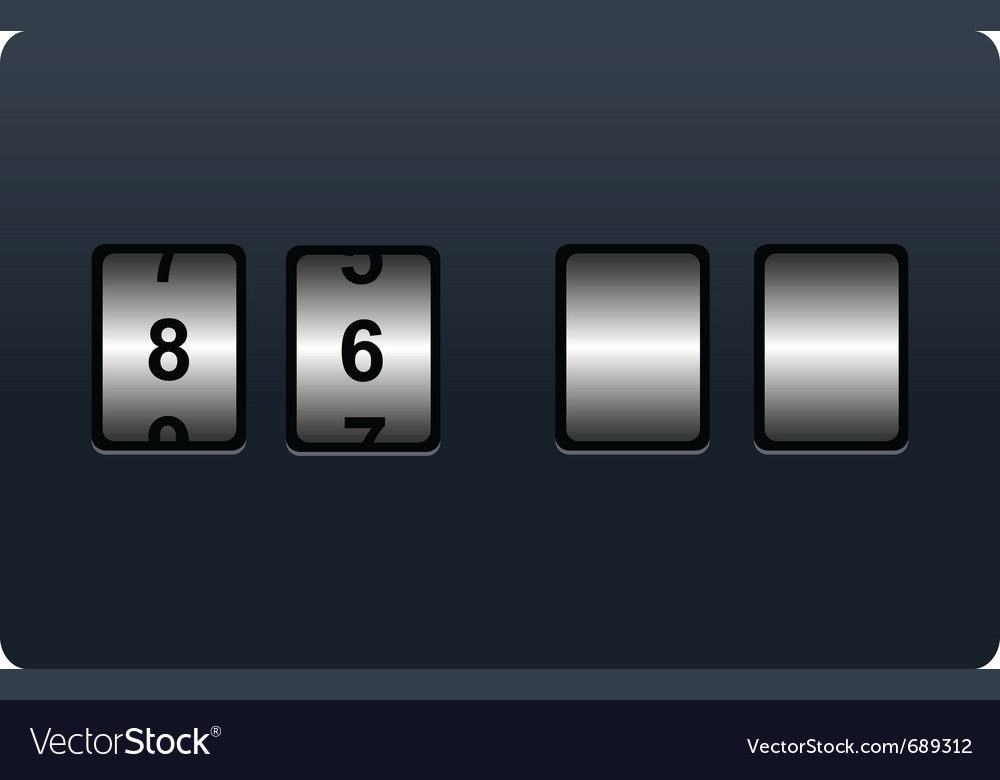 Countdown tmer vector