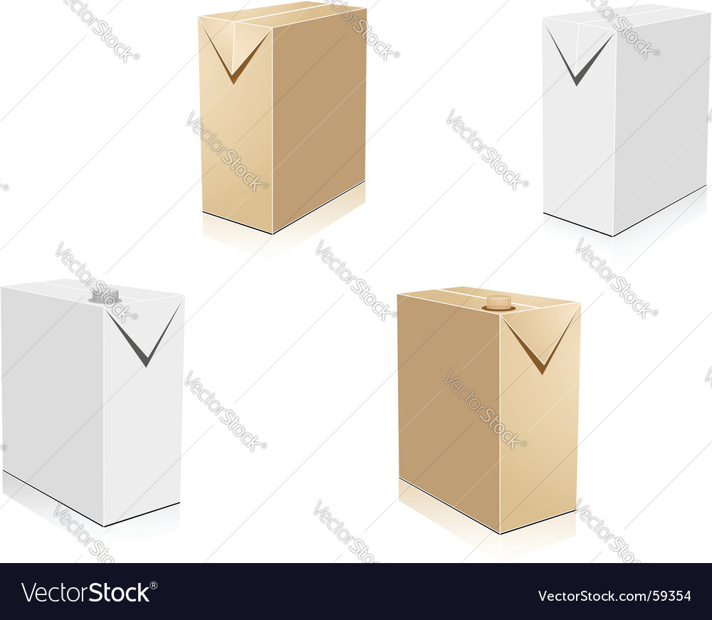 Drink containers  vector