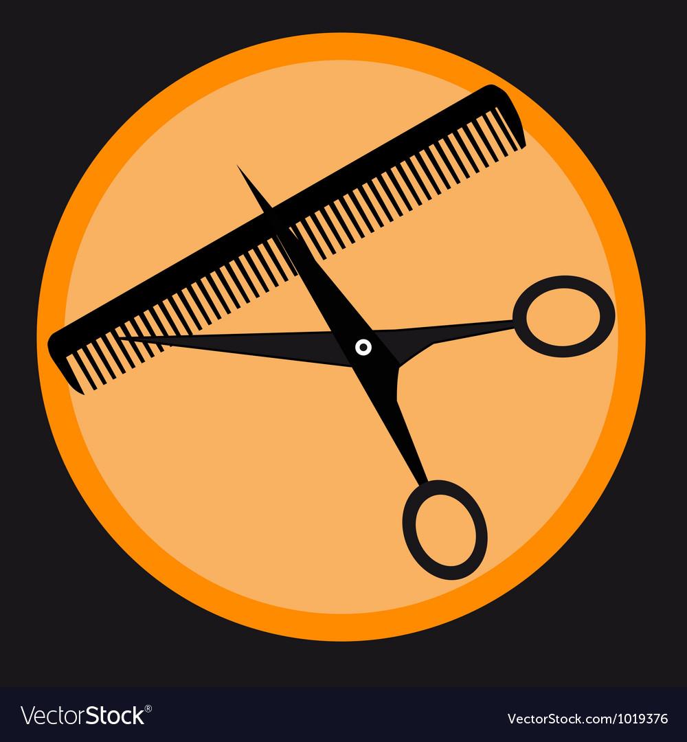 Barber tools - vector